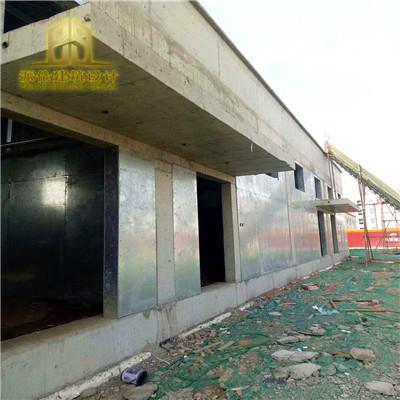 纤维水泥复合钢板防爆墙芜湖造粒厂房安装