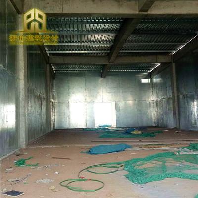 防爆墙为南宁华熙生物公司防爆墙施工安装