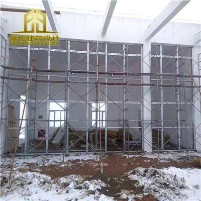 纤维增强水泥板泄爆墙改造车间施工