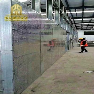 防爆墙有很高的耐火防高压性能
