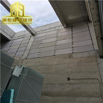 泡沫混凝土复合板泄爆墙